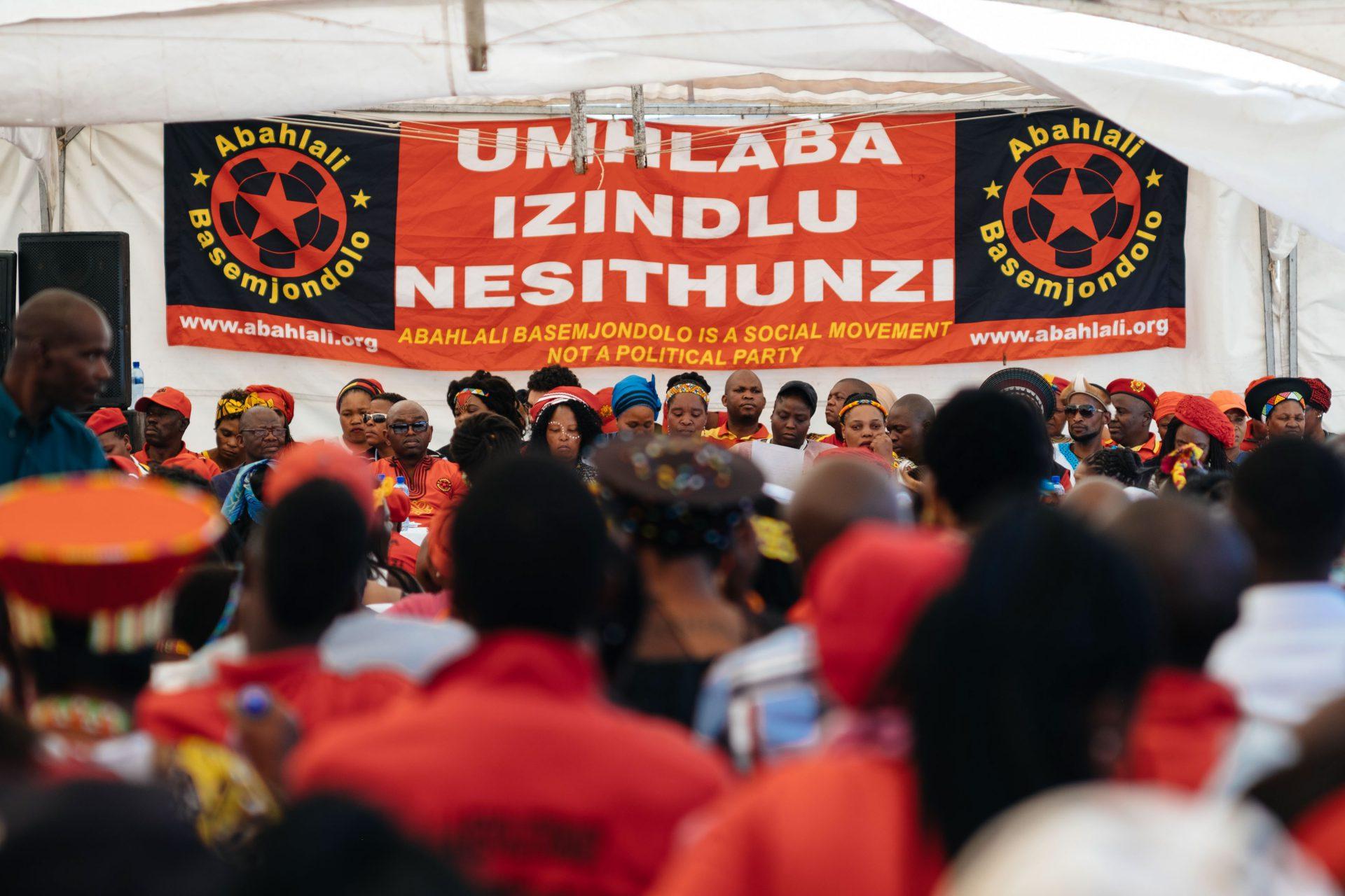 Abahlali baseMjondolo condemn xenophobia and violence